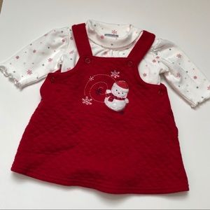 Carter's Holiday Outfit 3M